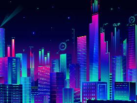 AI商业插画:炫彩科技风插图绘制