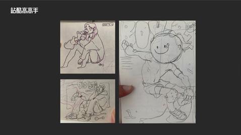 用趣味速写助力潮流插画设计