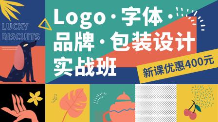 (定金优惠)Logo·字体·品牌·包装设计实战班