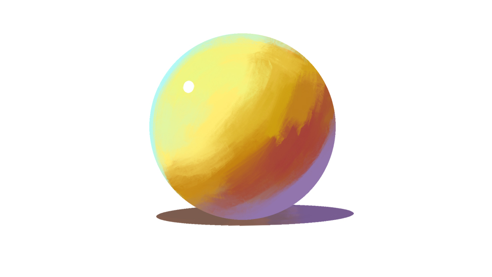 插画中的色彩与光影