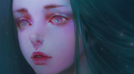 CG人物画之面部绘制